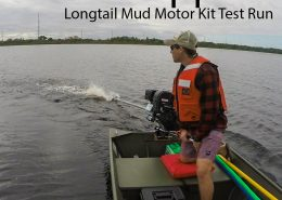 Mud Skipper Longtail Mud Motor Kit Test Run