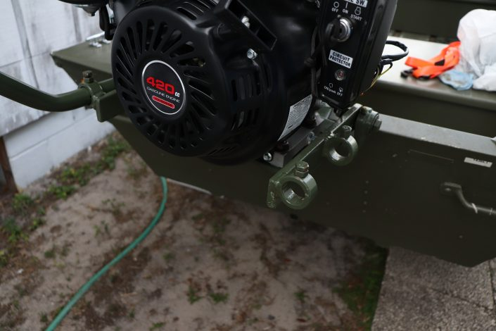 Swamp Runner Mud Motors (SPS) Thai Long-tail Mud Motor Kit on 13-hp Predator Motor