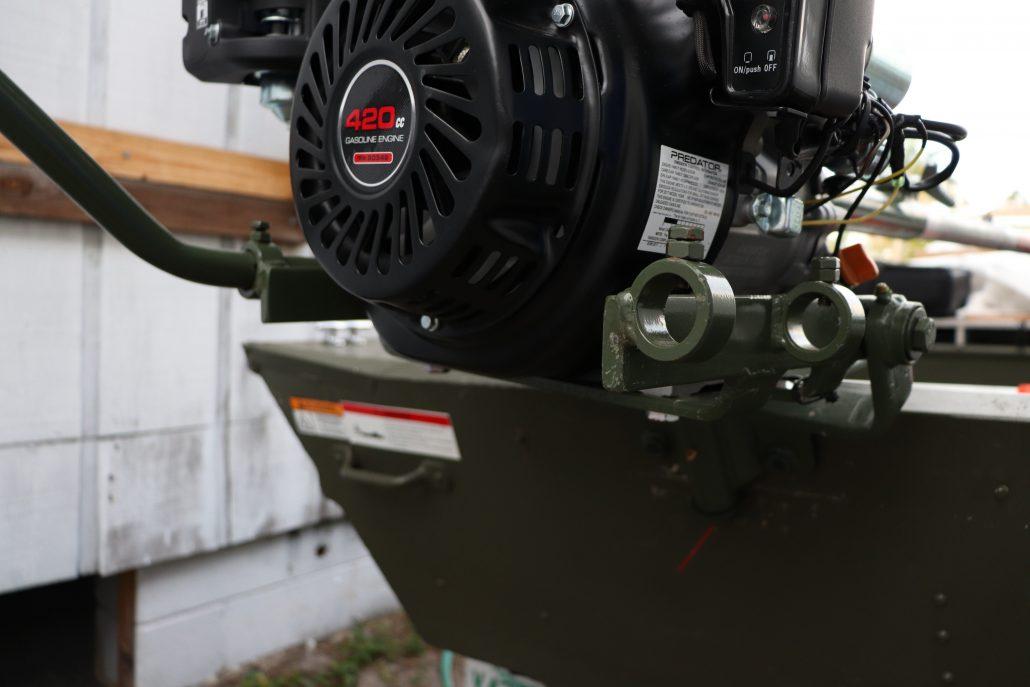 Swamp Runner Mud Motors (SPS) Thai Long-tail Mud Motor Kit Engine Base