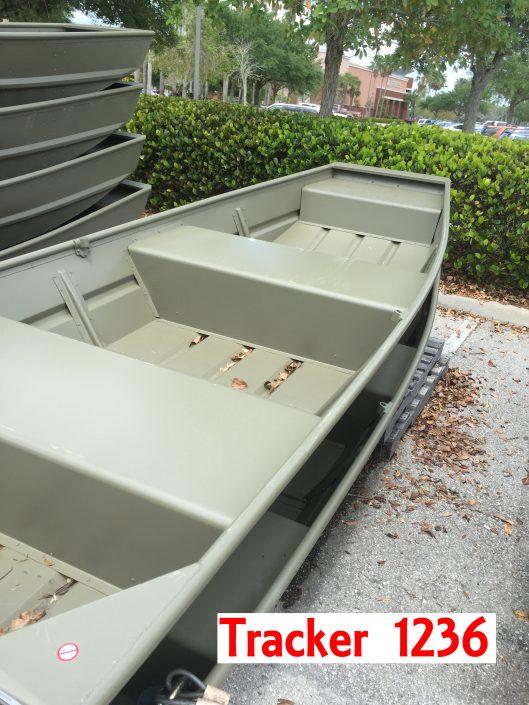 Tracker 1236 jon boat