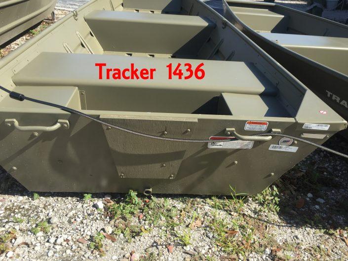 Tracker 1436 jon boat