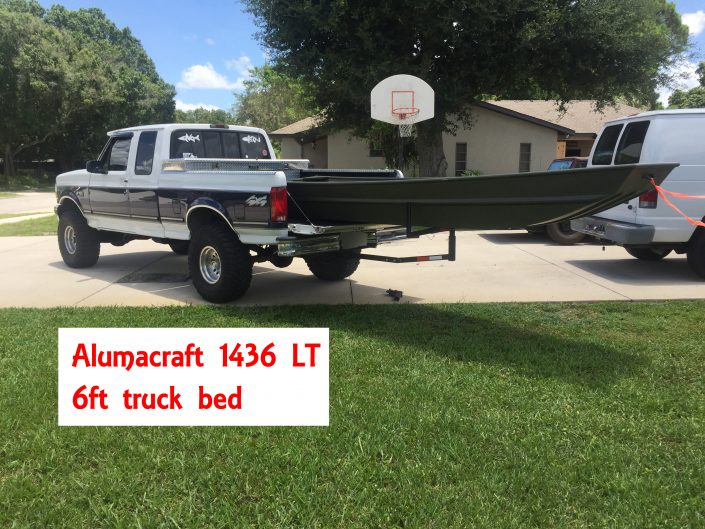 14 foot jon baot truck bed