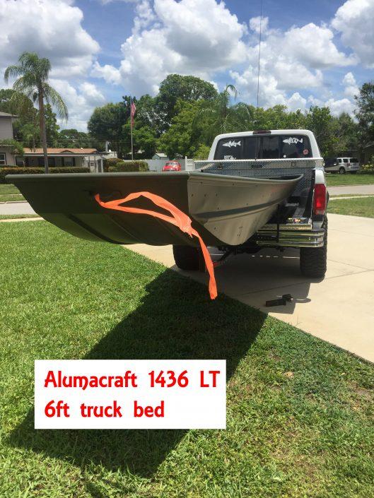14 foot jon baot truck bed