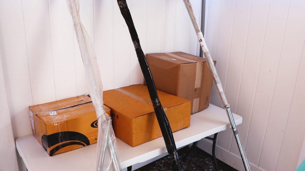 All three kits in their packages, Beaver Dam Mud Runner, Swamp Runner, Mud Skipper