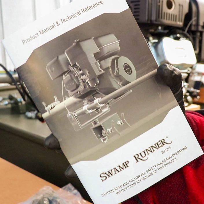 Swamp Runner Mud Motors Medium Kit Assembly Instruction Manual