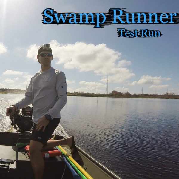 Swamp Runner Longtail Mud Motor Kit Test Run