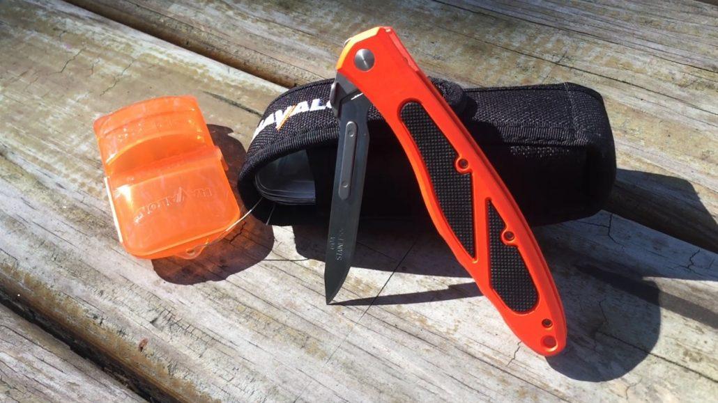 havalon piranta edge knife+sheath+blade removal tool