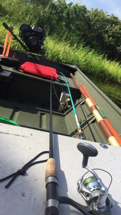 inside jon boat